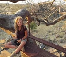 Alicja Borzyszkowska podczas Wolontariatu Ochrony środowiska w Afycez Projects Abroad