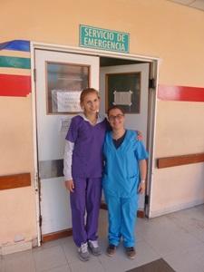 Irena Sionek podczas Wolontariatu Medycznego w Argentynie z Projects Abroad