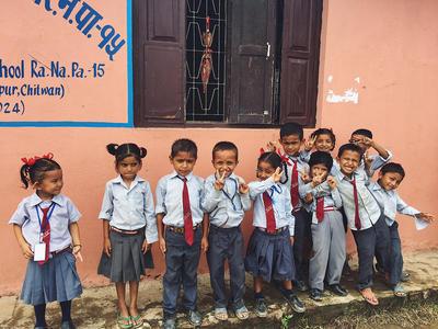 Dzieci, podopieczni Projects Abroad