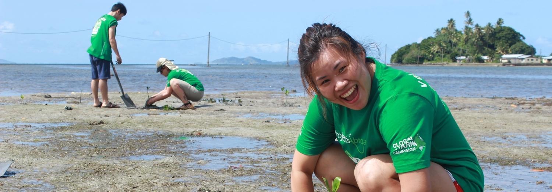 Maak een positief verschil tijdens een vrijwilligerswerk project in het buitenland.